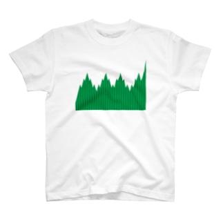 緑のバラン T-shirts