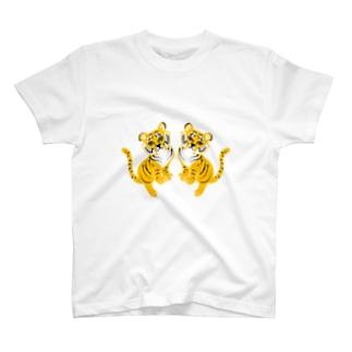 カネコサヤカのTORA-TWINS T-shirts