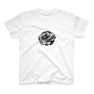 erkのラクガキのバラ T-shirts