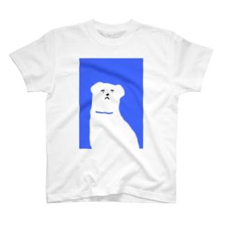 ブルーわん T-shirts