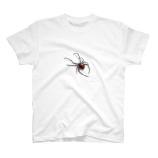 危険生物シリーズ・セアカゴケグモ T-shirts