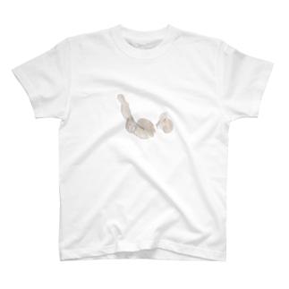 ドンドン蓮根足 T-shirts