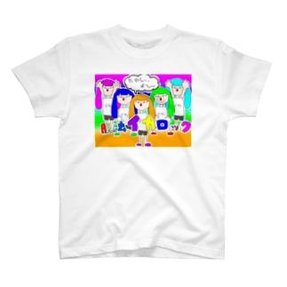 脱法イカロック T-shirts