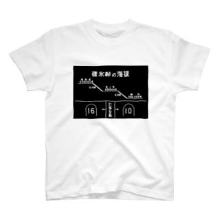 熊ノ平駅観光案内看板グッズ T-shirts