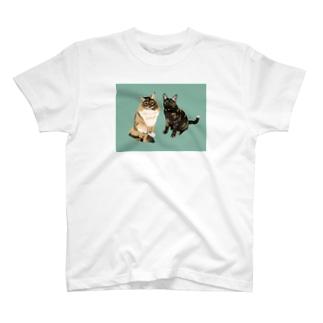 りりつくちゃん 背景あり T-shirts
