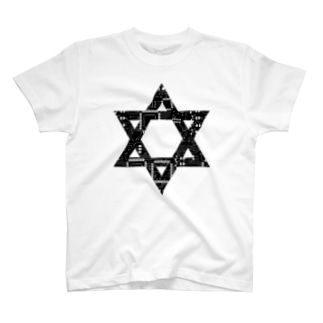 electric hexagram  T-shirts