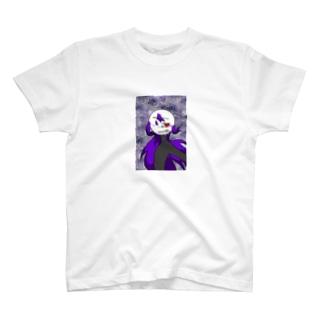 未練ゴースト霞ちゃん T-shirts