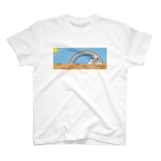 うさぎのひなた T-shirts