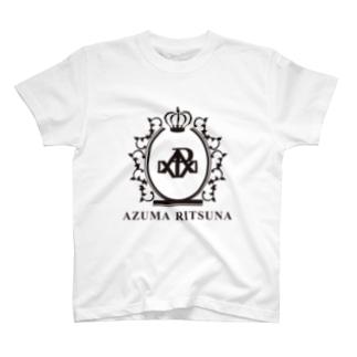 吾妻律奈オリジナルグッズ第一弾 T-shirts