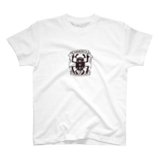 シモニタ研究所ロゴ T-shirts