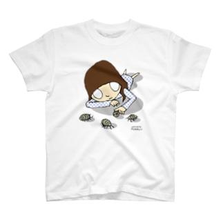 ダンゴムシガール T-shirts