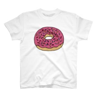 HUI-Studio.のPINK DONUT T-Shirt