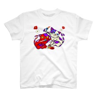 スモーキン猫 T-shirts