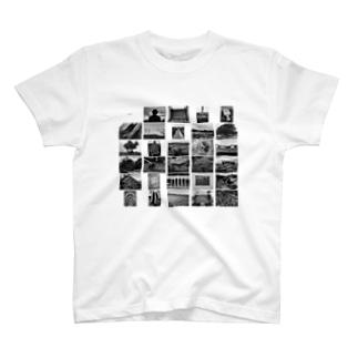 写真家・宮坂泰徳の『CS』 by 『19x19+0.5』 T-shirts