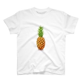 パイナップルTシャツ T-shirts