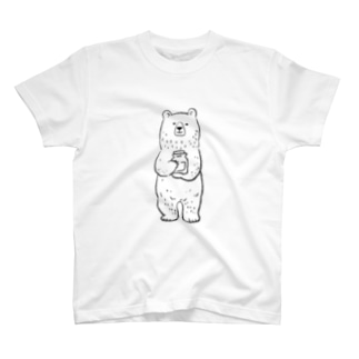 マヅメ ミユキ | atelier paccaのこぐまのカブ T-shirts