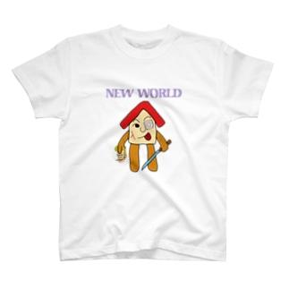 HOMEゆるキャラ NEWWORLDORDER T-shirts