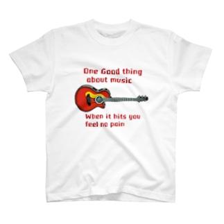 ギターに打たれて♪ T-shirts