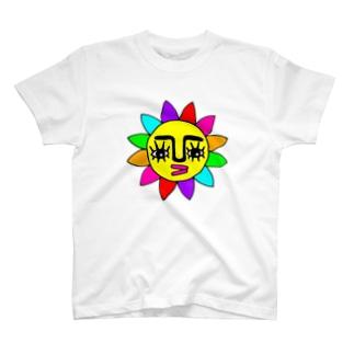 ★太陽★黄色★ T-shirts