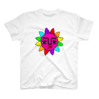 ★太陽★ピンク★ T-shirts