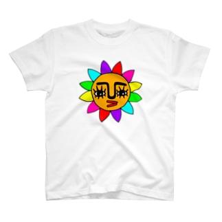 ★太陽★オレンジ★ T-shirts