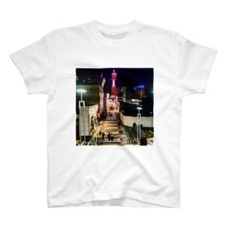 マッキーの通天閣  T-shirts