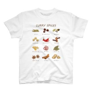 カレースパイス T-shirts