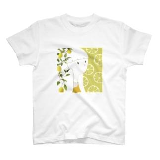 檸檬の女の子 T-Shirt