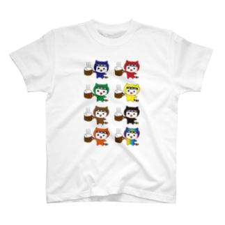 ねこにん T-shirts