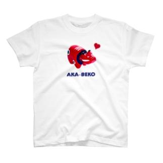 AKA-BEKO T-shirts