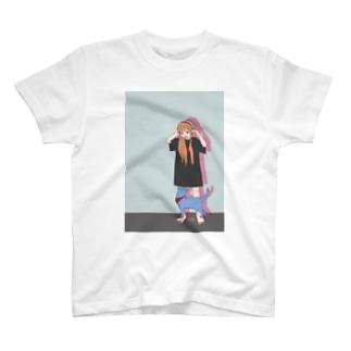 猫と音楽 T-Shirt