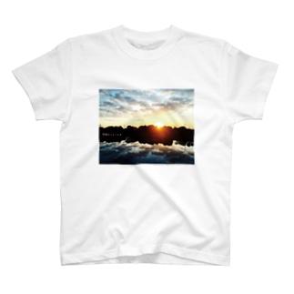 「地獄の上も下も春」celar ver. T-shirts