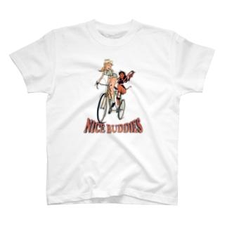 """""""NICE BUDDIES"""" T-shirts"""