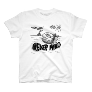 NEVER MIND T-shirts