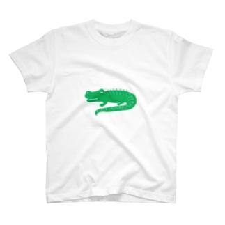 いつもアリゲーター(いつもありがとう) T-shirts