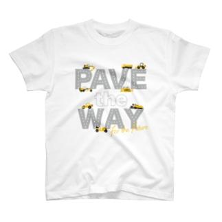 道路工事中 T-shirts