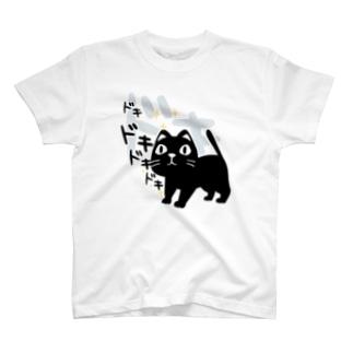 CT120 やみねこ、ろっぽのドキドキA T-shirts
