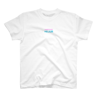 T3のMickey Wax    I could be your HELIUM T-shirts