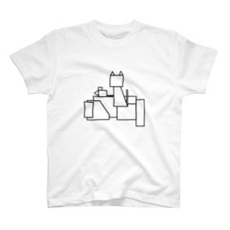 幸せの重み T-shirts