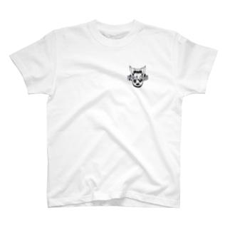 ドッグストゥースライン T-shirts