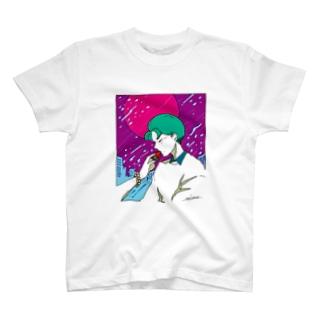甘酸っぱい雨夜 T-shirts