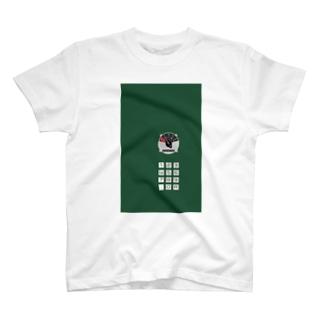 沿線電話(回線切り替えスイッチ、プッシュボタン)  T-shirts