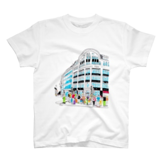 Berlinシリーズ「信号待ち」 T-shirts