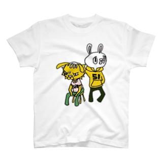 ウサ吉よしよし T-shirts