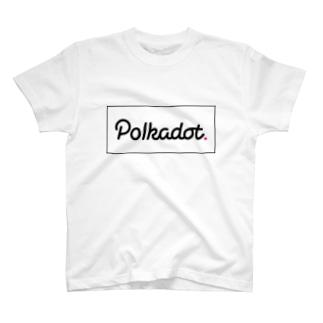 仮想通貨 Polkadot T-shirts