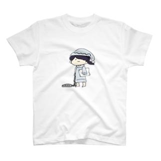 寝巻きあさりごはんTシャツ T-shirts