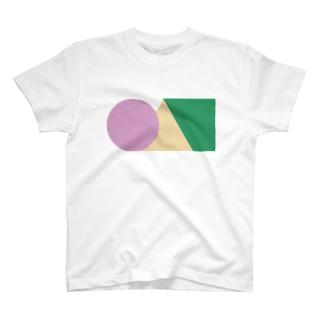 ●▲■アースカラー T-shirts