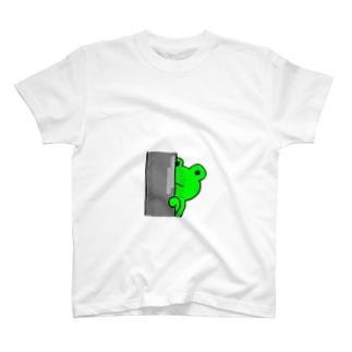 カエルは見た T-shirts