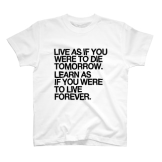 GANDHI WORDS T-shirts