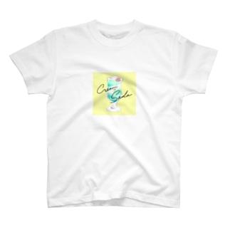 喫茶polaris/海王星クリームソーダ T-shirts